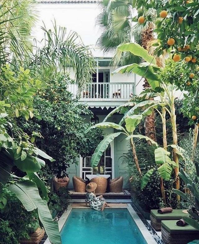 Garden Path Designs Ideas Tropical Backyard Tropical