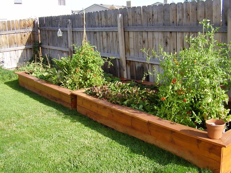 Garden Planter Box Ideas How To Make Wooden Planter