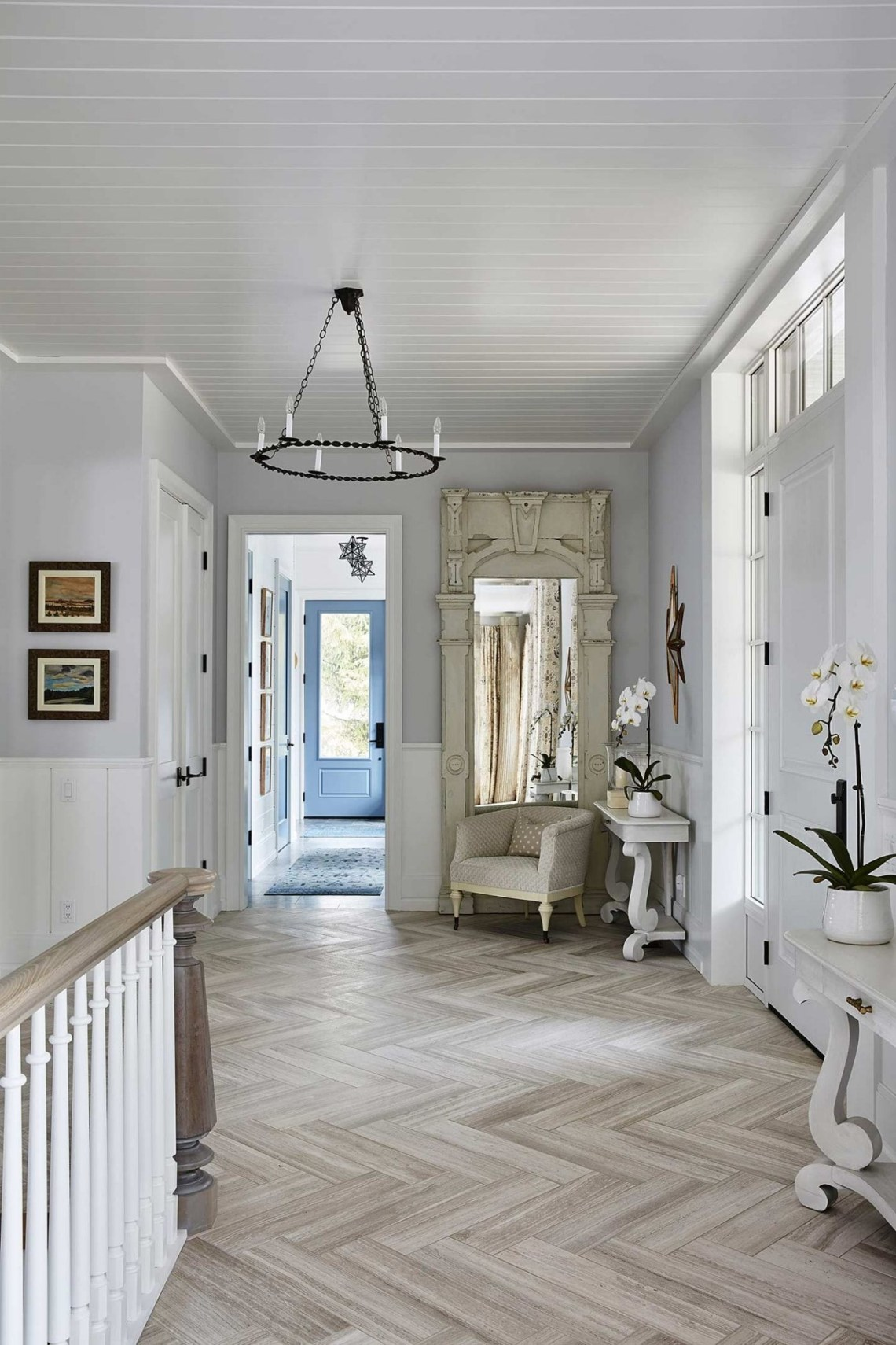 Get The Look Sarah Richardson Off The Grid House Foyer Landing Sarah Richardson Home