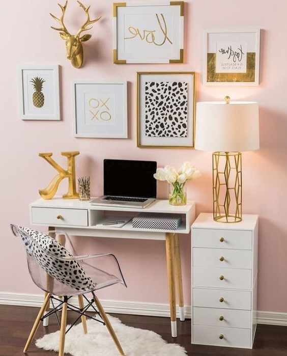 Girly Bedroom Decorating Ideas Home Office Decor Room