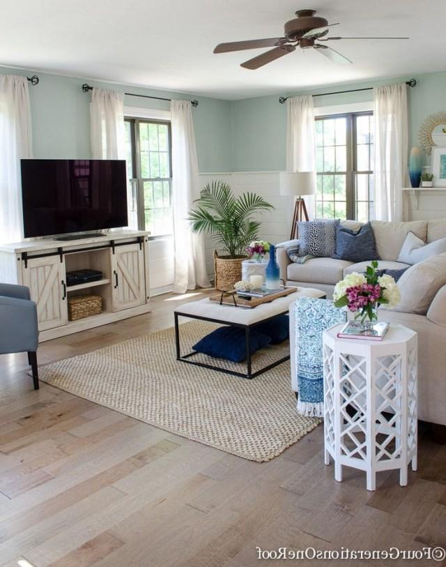 Gorgeous Brown Engineered Hardwood Family Room Reveal Modern Farmhouse Living Room Decor