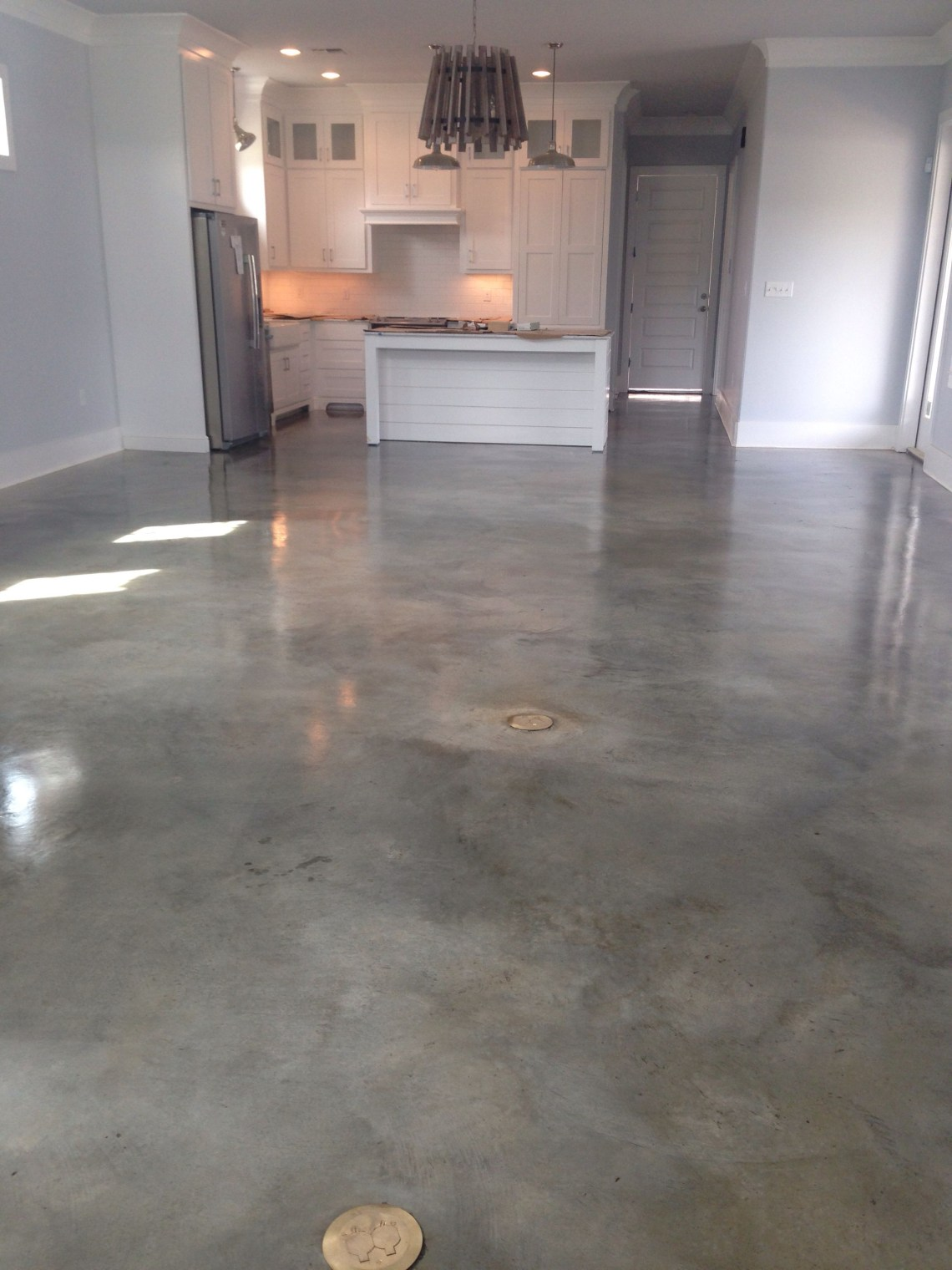 Great Room Concrete Stained Floors Concrete Floors