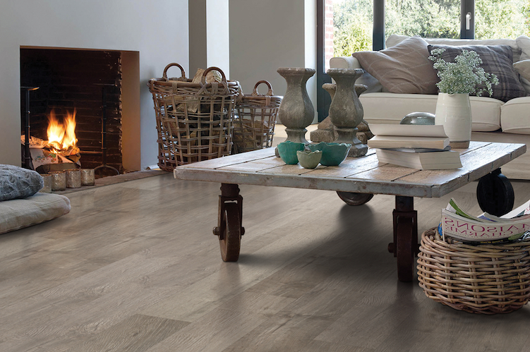 Greige Floors The Lbd Of Home Design Natural Laminate
