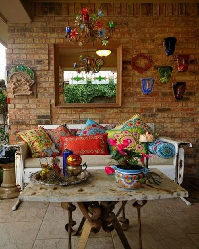 Happy Home Colorful Terrace Patio Ideas Artisan
