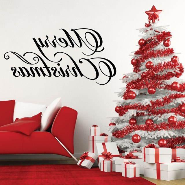 Happy Merry Christmas Quotes Holiday Season Home Window