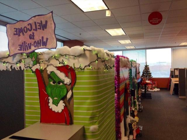 Holiday Desk Decorating Ideas Sofa Cope