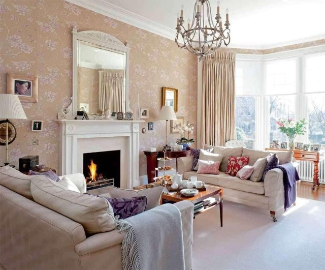 Home Decor Downton Abbey Inspired Victorian Living Room