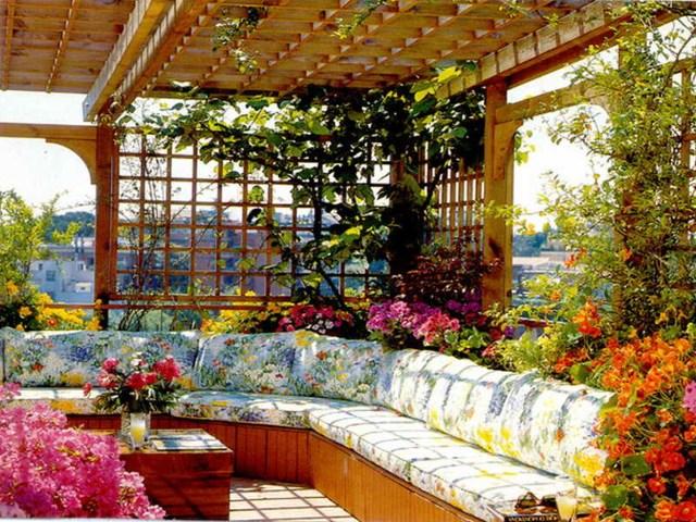 Home Flower Bed Simple Flower Garden Designs