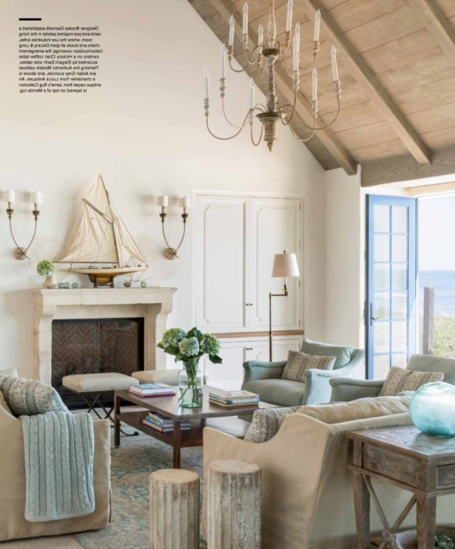 House Tour French Country Beach House Giannetti Home