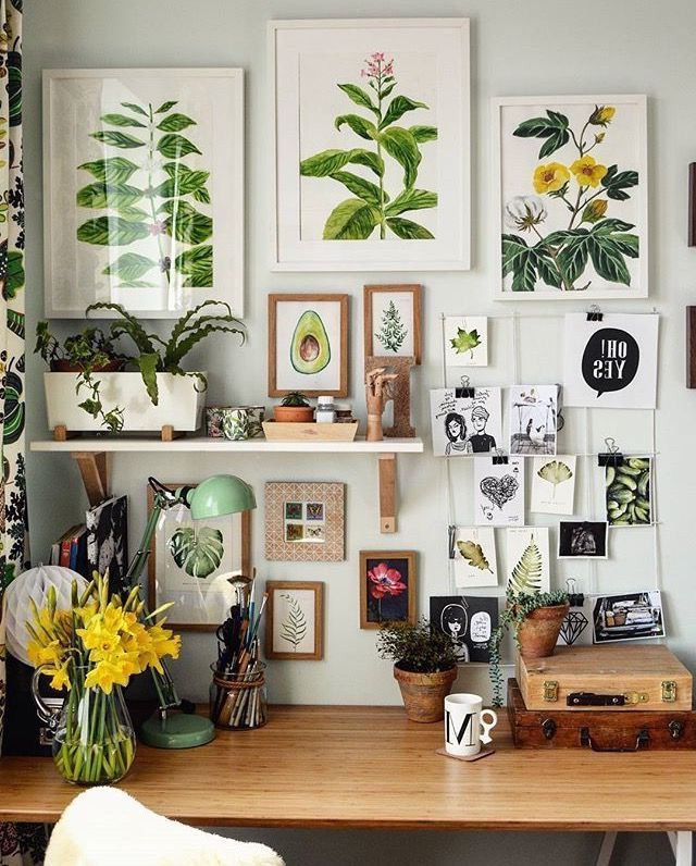 How About This For An Inspiring Office To Recreate The