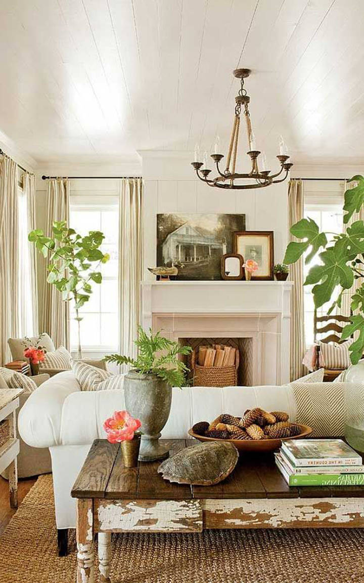 How To Create A Classy Vintage Living Room