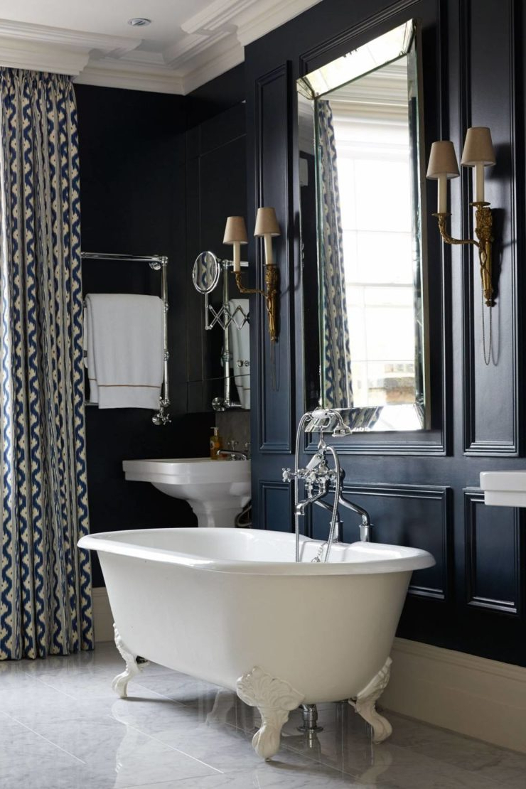 How To Create A Victorian Style Bathroom With A Modern