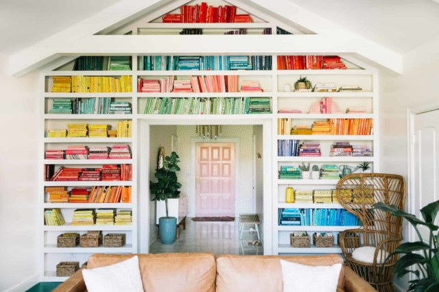 How To Decorate A Bookshelf Styling Ideas For Bookcases