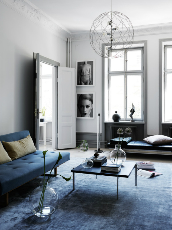 How To Decorate Your Home With Pantones Serenity Blue