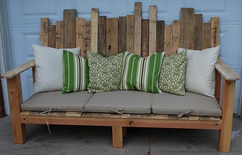 How To Make Sofa With Pallets In Unique Styles Pallets