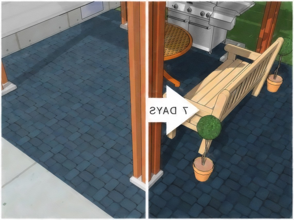 How To Paint An Outdoor Concrete Patio With Pictures