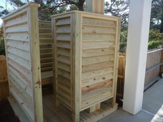 Ideas Of Outdoor Shower Stall Outdoor Shower Stall