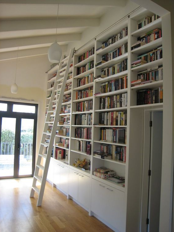 Image Result For Library Ladder Ikea Home Library Decor