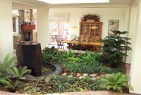 Indoor Atrium Beautiful Small Homes Small Garden Design
