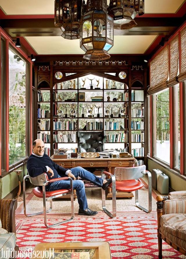 Inside Mad Men Creator Matthew Weiners Home Office Home