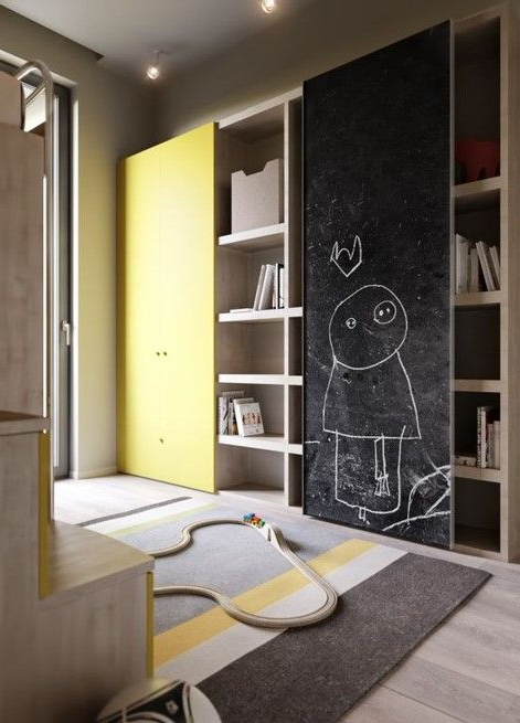 Inspiration Show Unit Kids Room Design Bedroom Wall