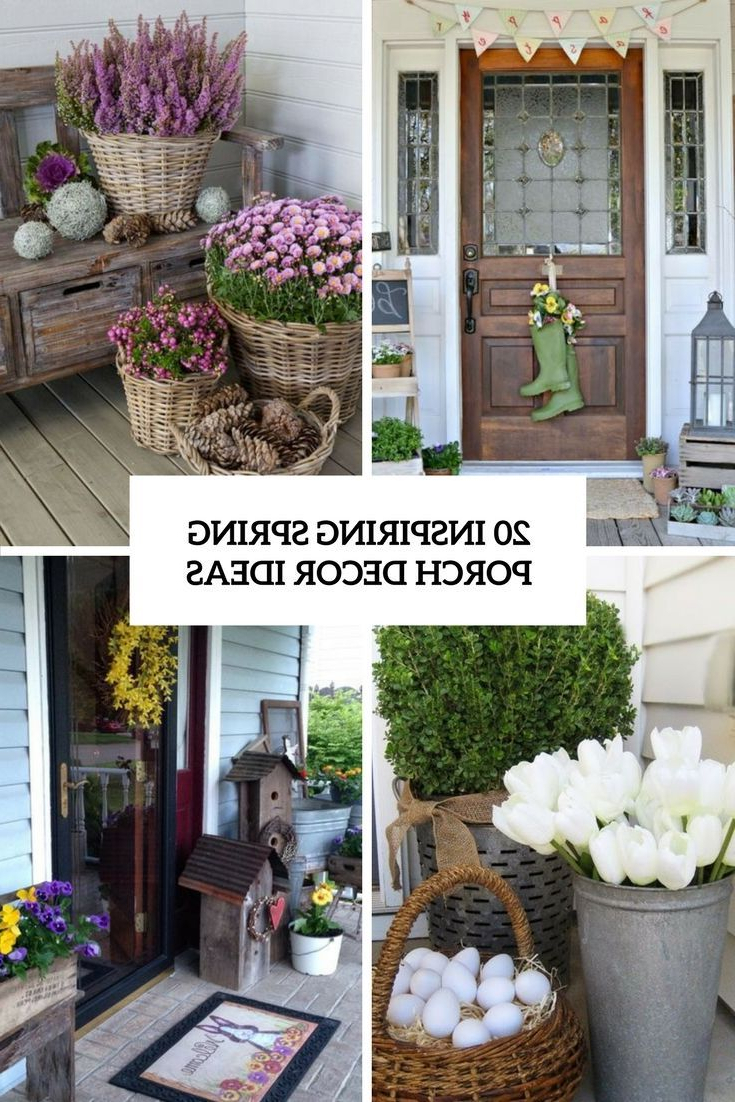 Inspiring Spring Porch Decor Ideas Cover Spring Porch Decor