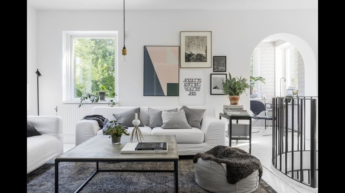 Interior Design Beautiful Scandinavian House Youtube