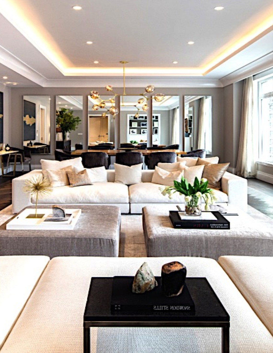 Interior Marketing Group Park Avenue Living Room