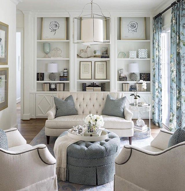 Ivory And Grey Room Heatherscotthomes House And Home
