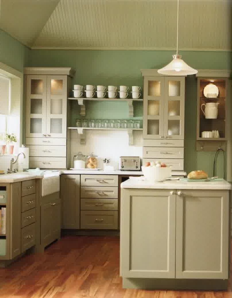 Kitchen Green And White Bone Kitchen Kabinet Green Wall Paint Color White Roofing White