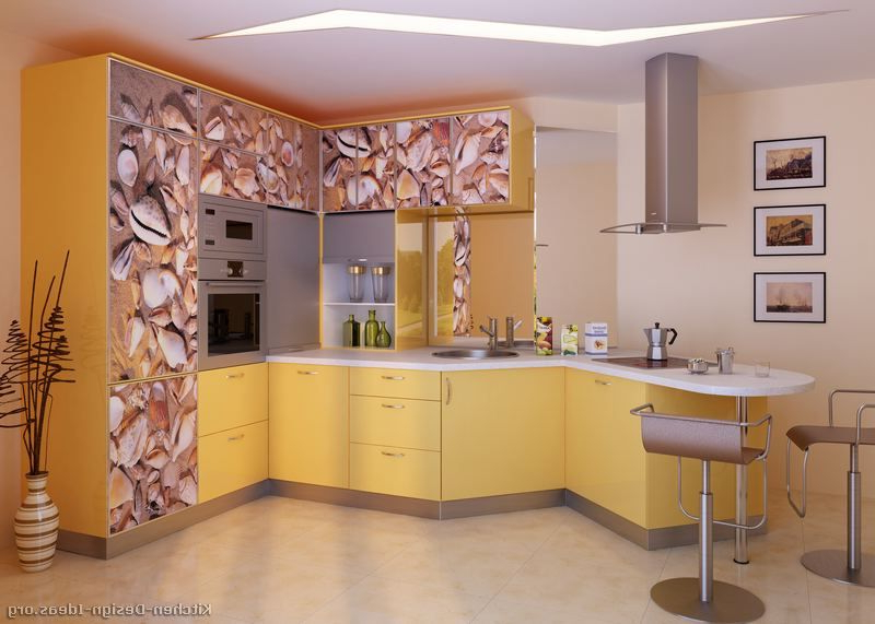 Kitchen Idea Of The Day Modern Yellow Kitchens I See