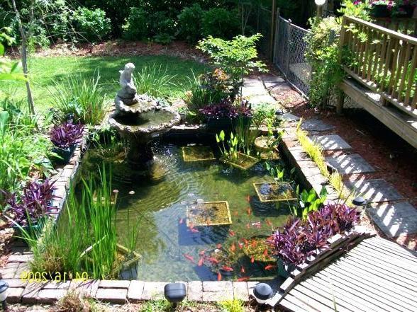 Koi Pond Design Fabulous Backyard Pond Ideas Landscape
