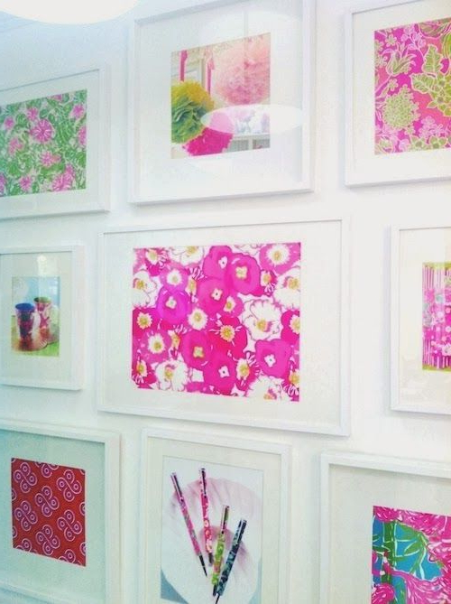 Lilly Print Gallery Wall Design Darling Gallery Wall