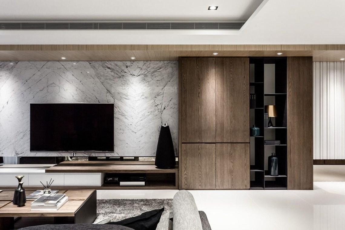Lin Residence On Behance Living Room Decor Modern