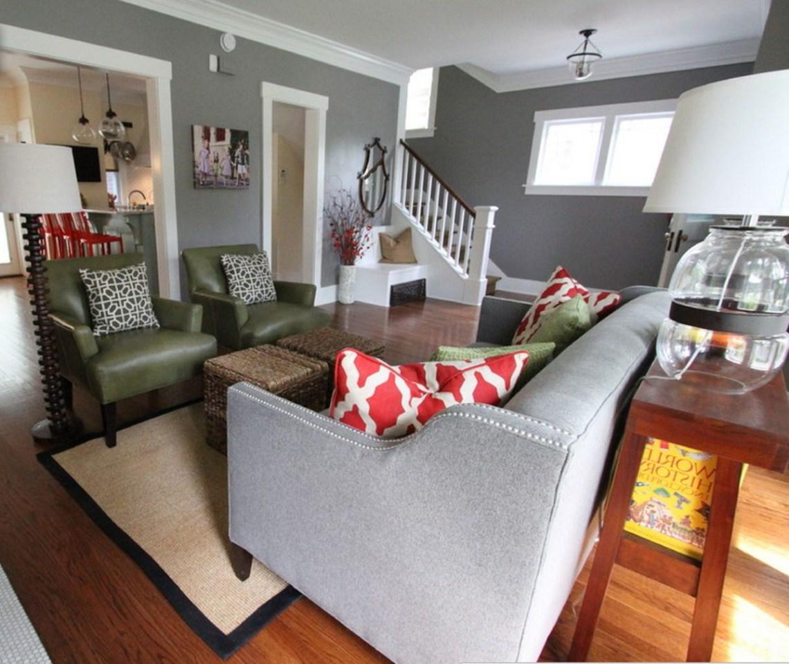 Living Room Grey Walls For Modern Decor Simple Best