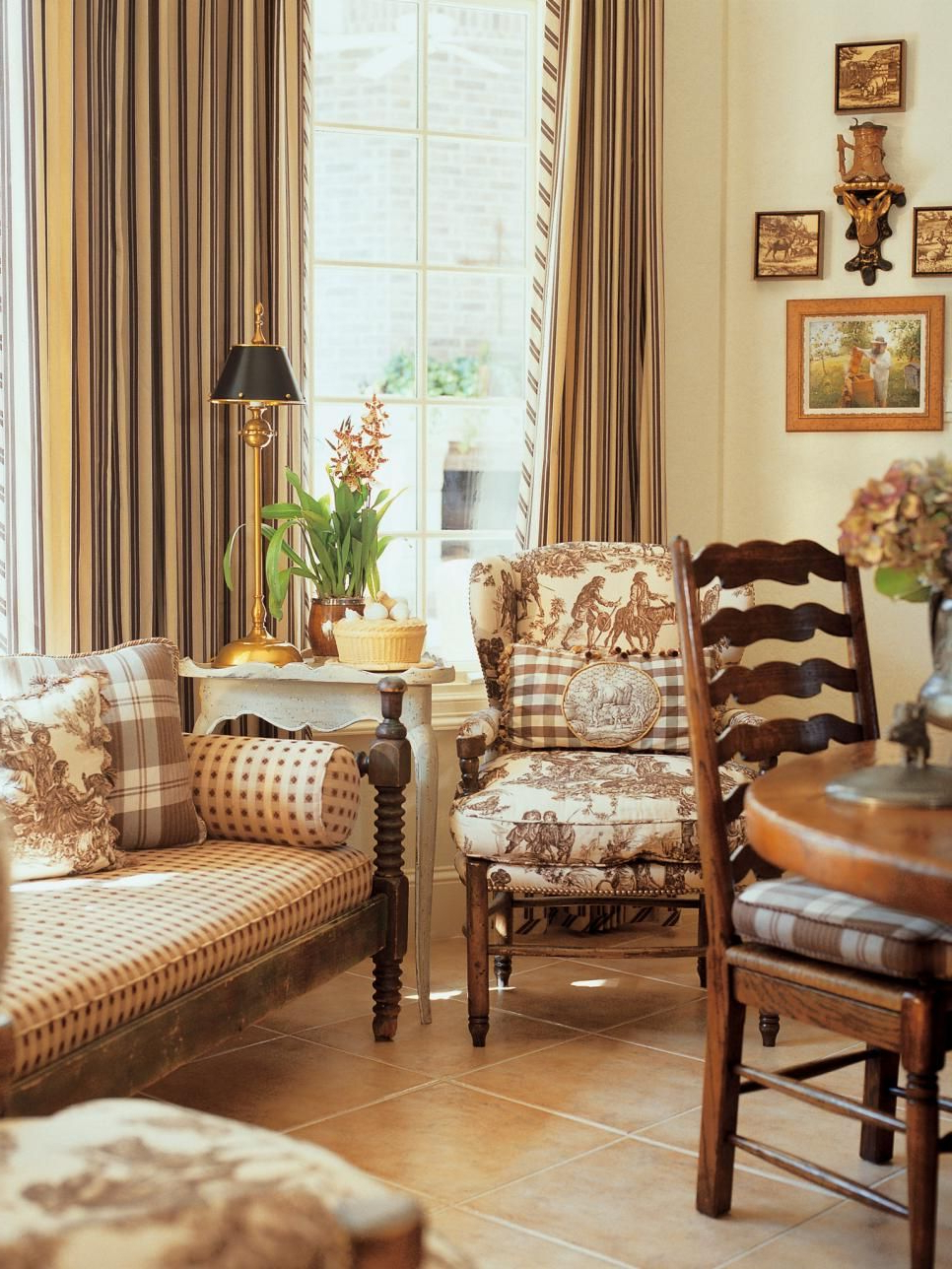 Living Room Home Decor French Country Charles Faudree