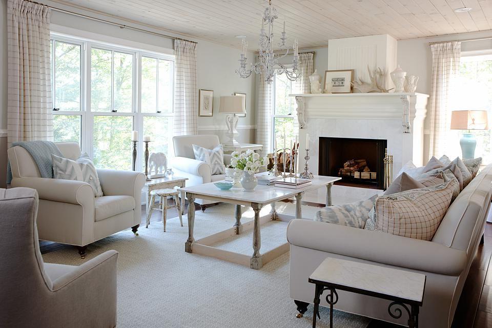 Living Room Sarah Richardson Design Home Home Decor Home Living Room