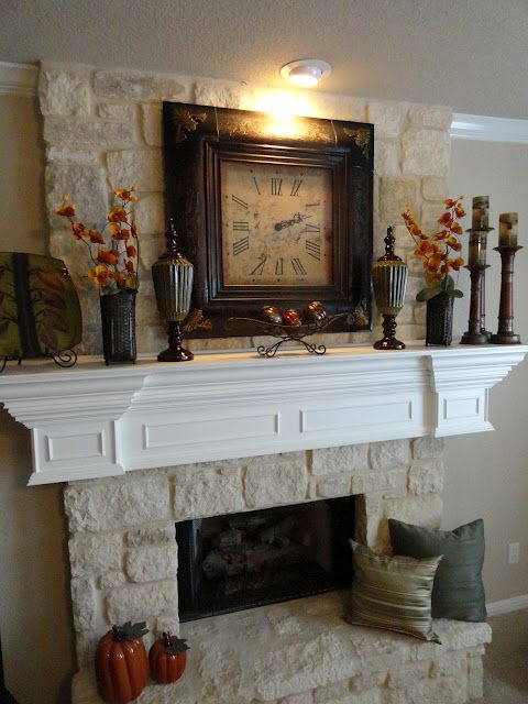 Love Mantles That Have Just The Right Amount Of Decor