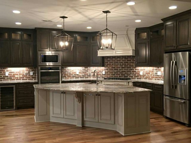 Love This Kitchen Think I Would Want White Cabinets