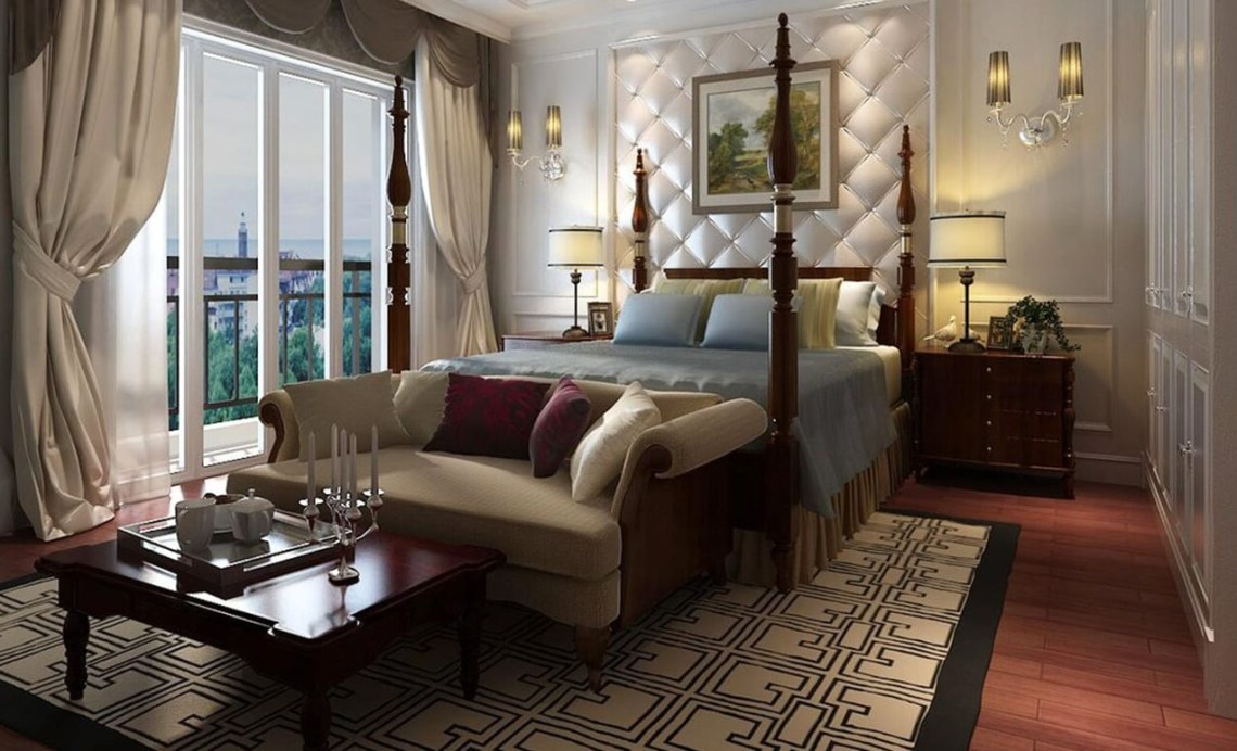 Luxurious Bedroom Design Concepts For A Fashionable House
