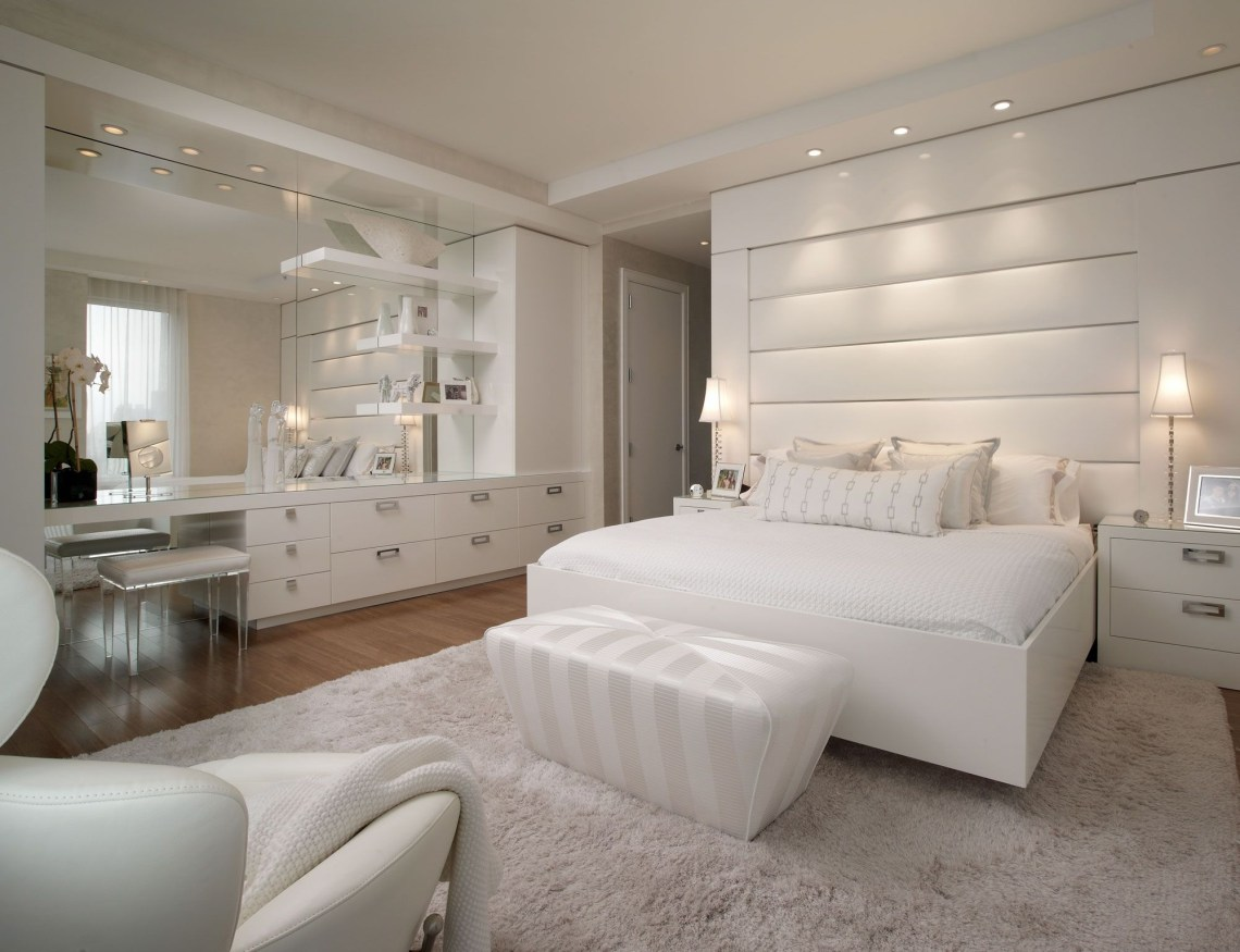 Luxury All White Bedroom Decorating Ideas Amazing