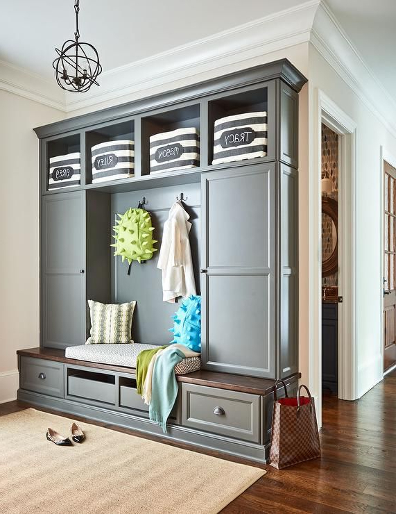 Marvelous Mudrooms New Homes Entryway Storage Mudroom