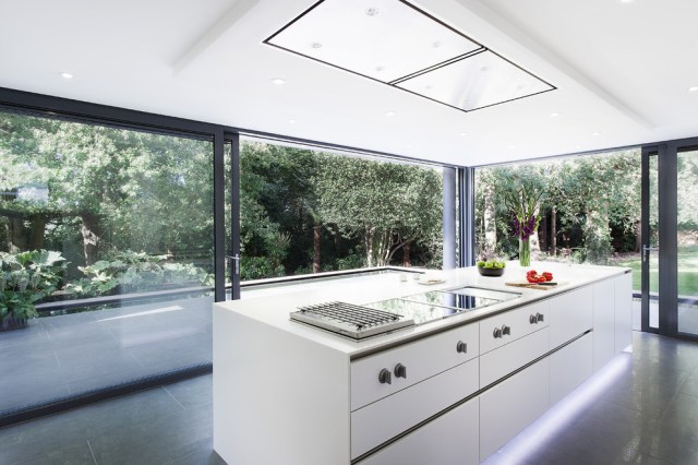 Marvelous Outdoor Griddle In Kitchen Modern With Ceiling