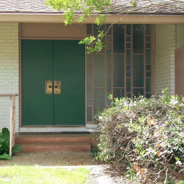 Mid Century Modern Front Door Modesto Ca Jl Ordaz