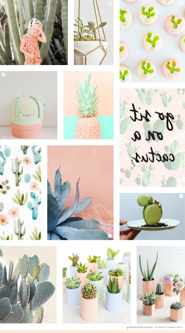 Midweek Moodboardbut First Cacti Tropical Bedrooms