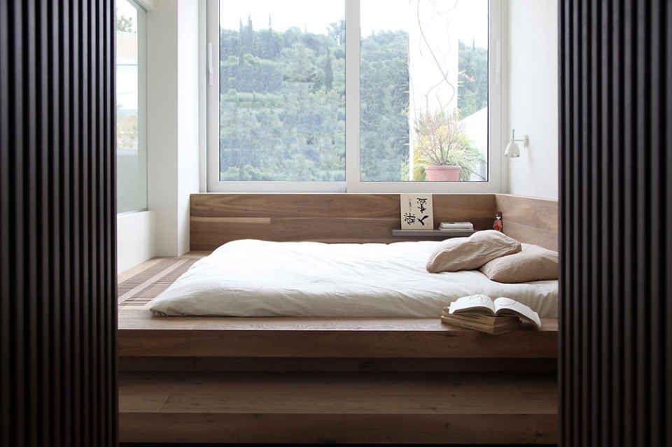 Minimalistic Penthouse With Japanese Styling Japanese Style Bedroom Japanese Inspired Bedroom