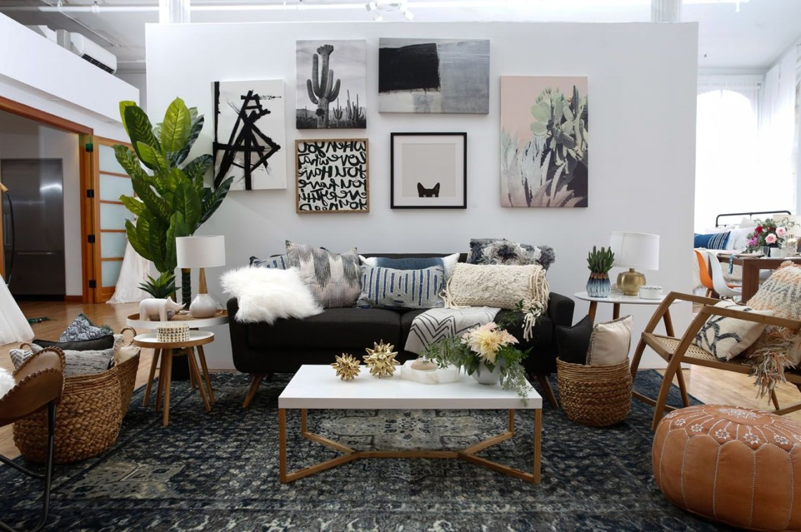 Modern Boho Interior Design With Wayfair Registry Boho