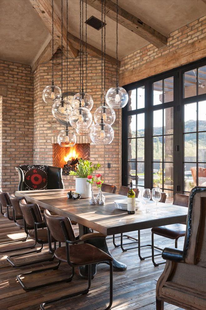 Modern Farmhouse Lighting Dining Room Farmhouse With