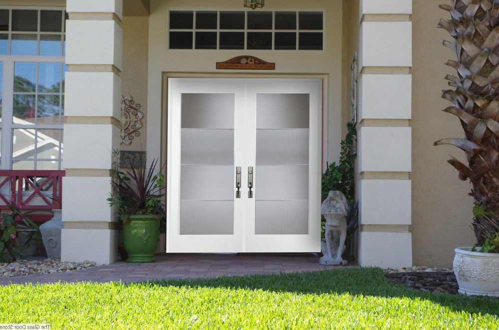 Modern Glass Double Front Doors Google Search Exterior