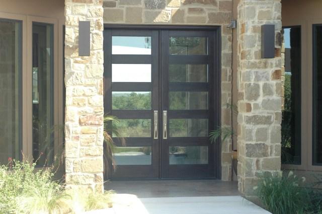 Modern Wood Door 8ft Rubi Double Entry Door Double